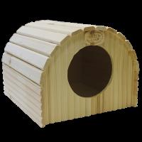 """Деревянный домик для кролика и морской свинки """"Ангар"""" Greenfarm"""