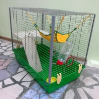 Клетка для хорьков, шиншилл, белок, крыс НС 643
