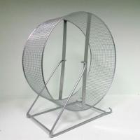 Колесо металлическое для грызунов на подставке (перекладины) Дарелл 30 см.