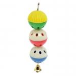 Игрушка для попугая Забава с 3 шариками