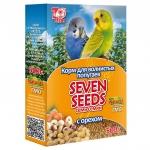 Корм для волнистых попугаев Seven Seeds с орехом 500 г.
