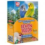Корм для волнистых попугаев Seven Seeds витамины, минералы 500 г.
